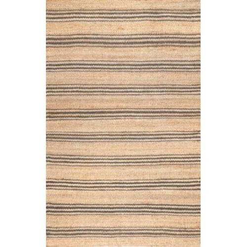 Sandy Jute Natural Rectangular: 7 Ft. 6 In. x 9 Ft. 6 In. Rug