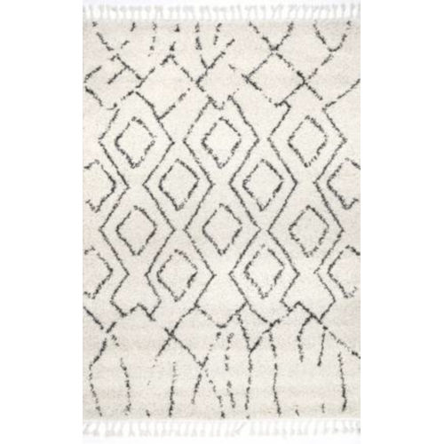 Erin Moroccan Off White Rectangular: 10 Ft. 2 In. x 14 Ft. Rug