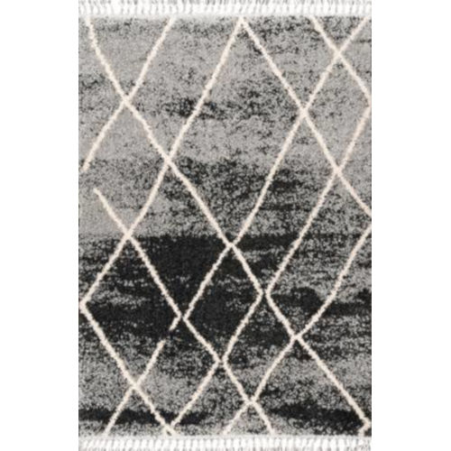 Shannon Moroccan Black Rectangular: 9 Ft. 2 In. x 12 Ft. Rug