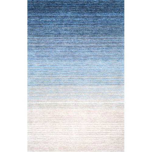 Drey Ombre Blue Rectangular: 6 Ft. x 9 Ft. Rug