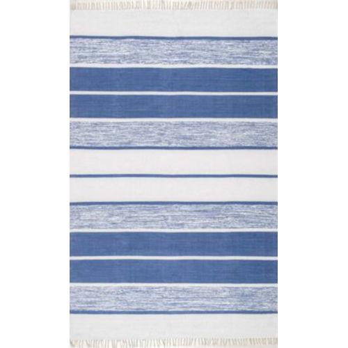 Darla Blue Rectangular: 5 Ft. x 8 Ft. Rug