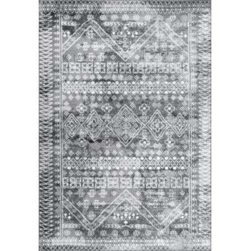 Moroccan Frances Gray Rectangular: 8 Ft. x 10 Ft. Rug