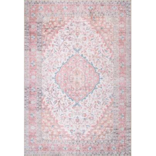 Medallion Patsy Pink Rectangular: 7 Ft. 6 In. x 9 Ft. 10 In. Rug