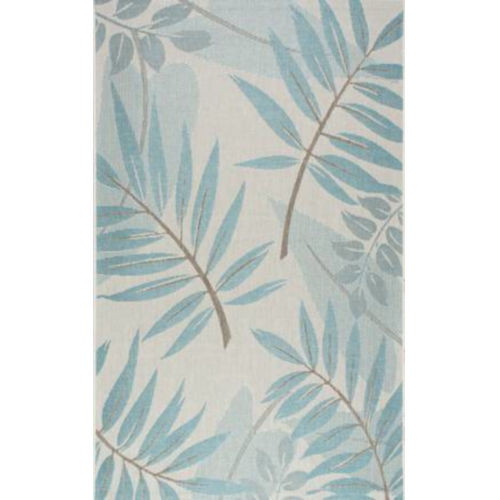 Trudy Turquoise Rectangular: 10 Ft. x 14 Ft. Rug