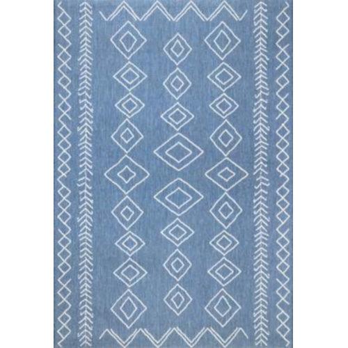 Serna Blue Square: 7 Ft. 6 In. Rug