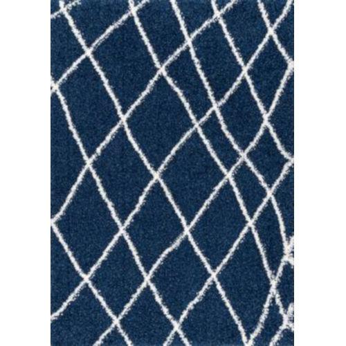 Alvera Easy Blue Rectangular: 6 Ft. 7 In. x 9 Ft. Rug