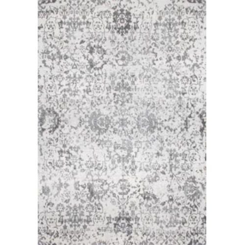 Floral Damask Rosemary Gray Rectangular: 9 Ft. 10 In. x 14 Ft. Rug