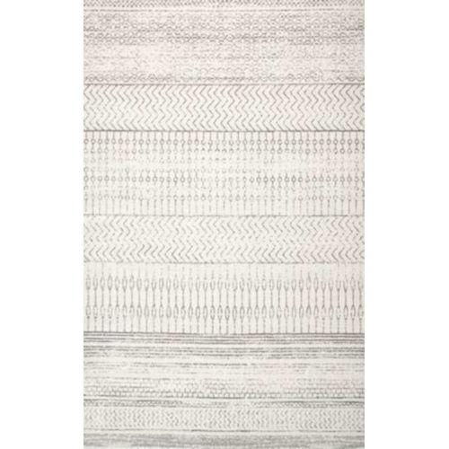 Nova Stripes Gray Rectangular: 5 Ft. x 7 Ft. 5 In. Rug
