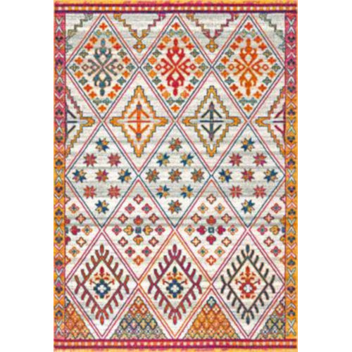 Vintage Karlene Multicolor Rectangular: 5 Ft. x 7 Ft. 5 In. Rug