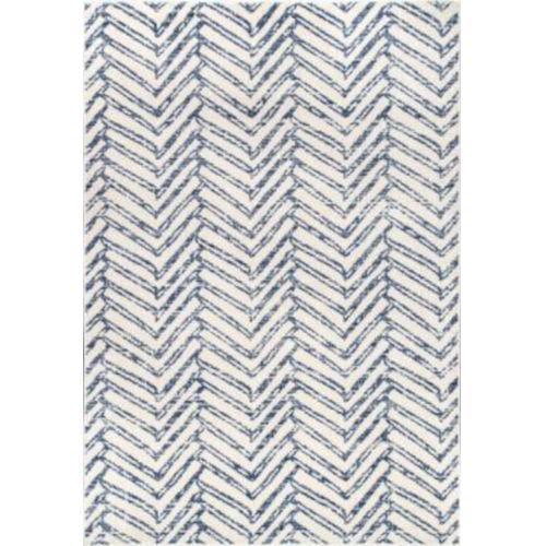 Rosanne Blue Rectangular: 4 Ft. x 6 Ft. Rug