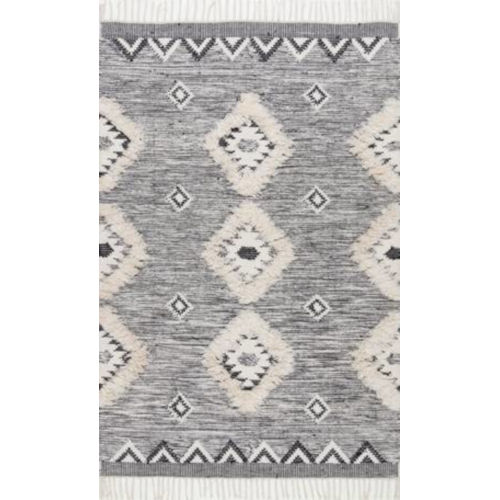 Savannah Moroccan Gray Rectangular: 3 Ft. x 5 Ft. Rug