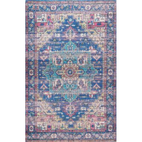 Melinda Blue Rectangular: 5 Ft. x 8 Ft. Rug