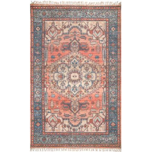Andrea Multicolor Rectangular: 4 Ft. x 6 Ft. Rug
