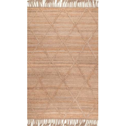 Arienne Jute Natural Rectangular: 7 Ft. 6 In. x 9 Ft. 6 In. Rug