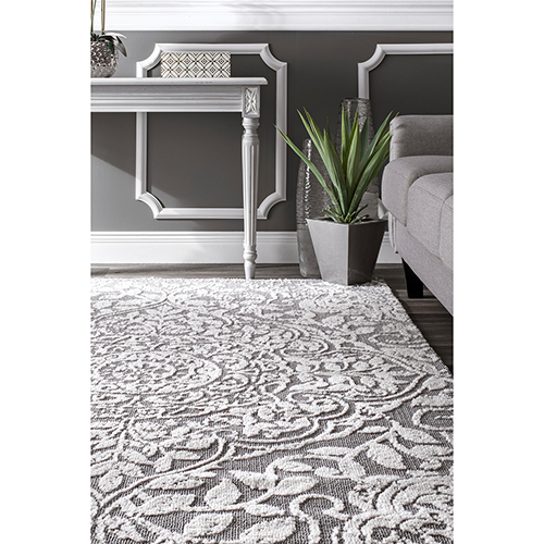 Lianne Grey Runner: 2 Ft. 6 In. x 8 Ft. Rug