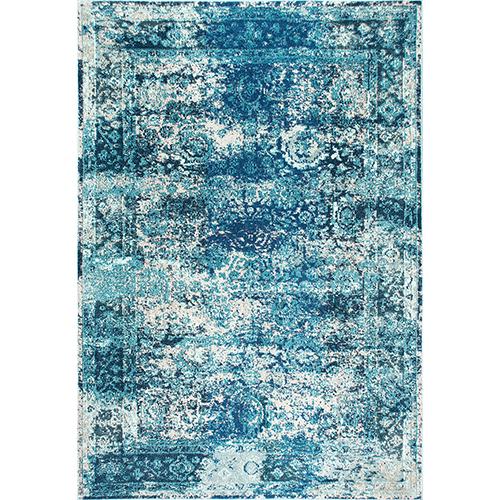 nuLOOM Ocean Blue Vintage Shuler Rectangular: 9 Ft. x 12 Ft.