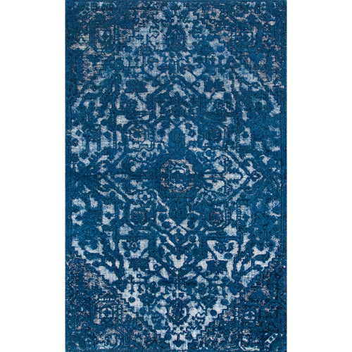 nuLOOM Blue Vintage Gwyneth Serapi Rectangular: 4 Ft. x 6 Ft.