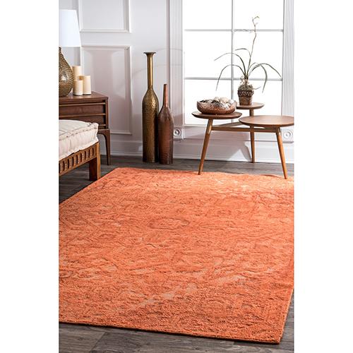 Orange Vintage Gwyneth Serapi Rectangular: 4 Ft. x 6 Ft.