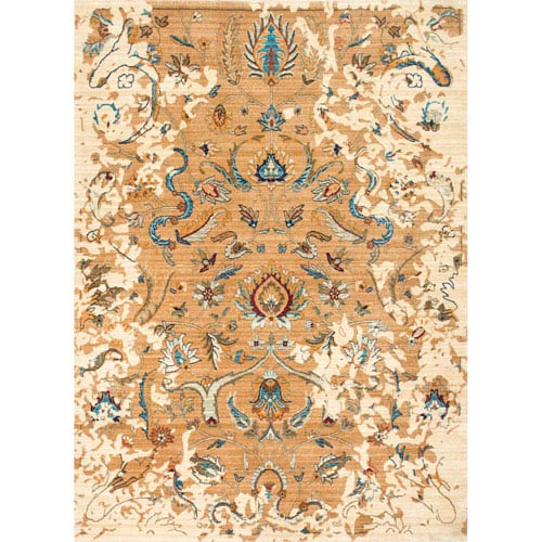 Beige Rectangular: 2 Ft. 7 In. x 4 Ft. Rug