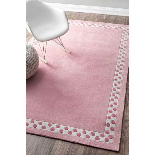 Pink Rectangular: 5 Ft. x 8 Ft.