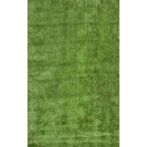 Green Rectangular: 6 Ft. 7 In. x 9 Ft. Outdoor Rug