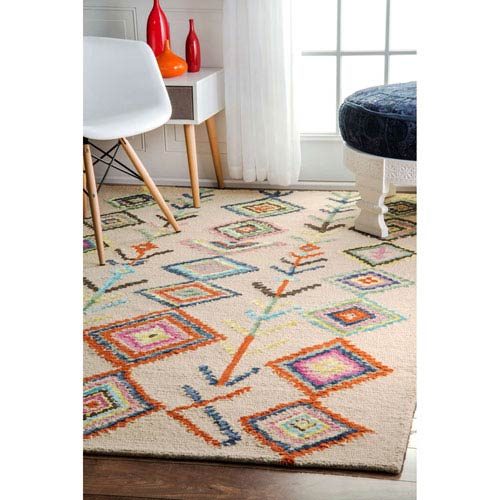 Belini Area Ivory Rectangular: 2 Ft. x 3 Ft. Rug