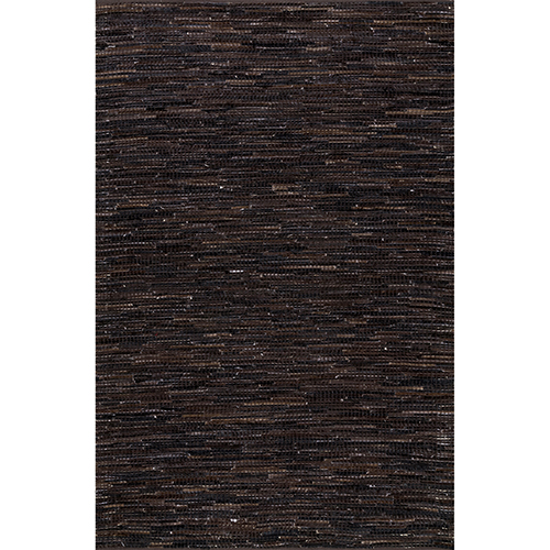 nuLOOM Dark Brown Hand Woven Linares Abstract Rectangular: 4 Ft. x 6 Ft.