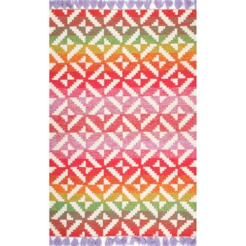 nuLOOM Multicolor Rectangular: 4 Ft. x 6 Ft. Rug
