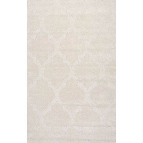 Cream Rectangular: 8 Ft. 6 In. x 11 Ft. 6 In.