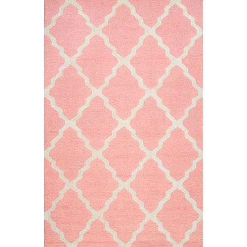 Baby Pink Rectangular: 2 Ft. x 3 Ft. Rug