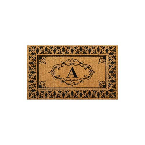 Outdoor Letter A Rectangular: 2 Ft. 6-Inch x 4 Ft. Mat