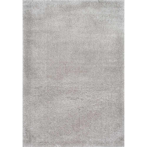 nuLOOM Gynel Cloudy Shag Silver Rectangular: 3 Ft. 3 In. x 5 Ft. Rug