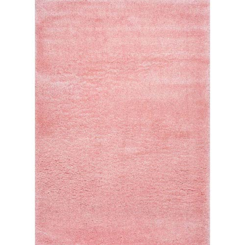 Gynel Cloudy Baby Pink Rectangular: 3 Ft. 3 In. x 5 Ft. Rug