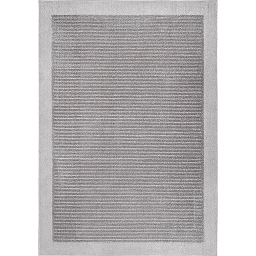 Ardath Solid Grey Rectangular: 5 Ft. 3 In. x 7 Ft. 6 In. Rug