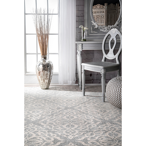 Contessa Silver Runner: 2 Ft. 8 In. x 8 Ft. Rug