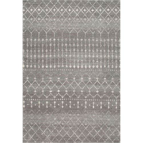 Blythe Dark Grey Rectangular: 8 Ft. x 10 Ft. Rug
