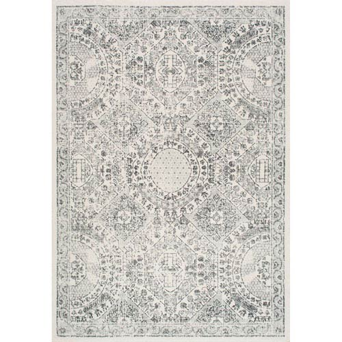 Vintage Minta Grey Runner: 2 Ft. 8 In. x 8 Ft. Rug