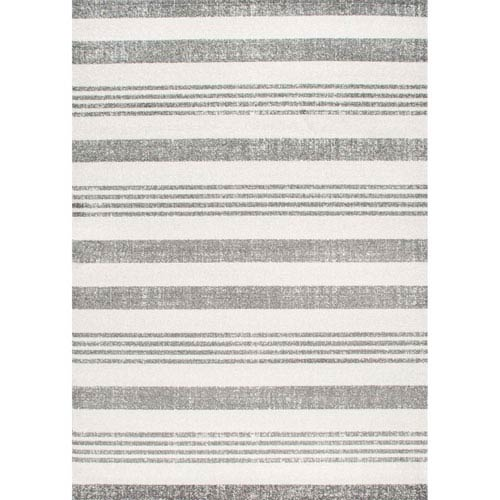 nuLOOM Doreen Grey Runner: 2 Ft. 8 In. x 8 Ft. Rug