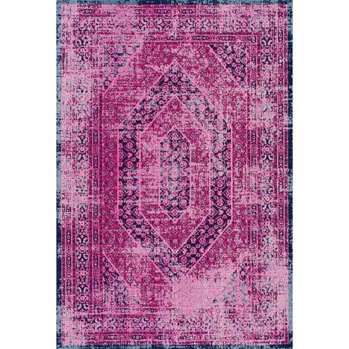 nuLOOM Pink Runner: 2 Ft. 8 In. x 8 Ft. Rug