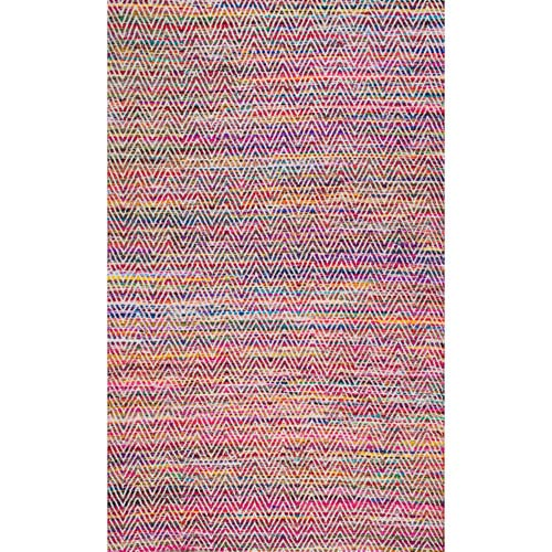 nuLOOM Magenta Rectangular: 2 Ft. x 3 Ft. Rug