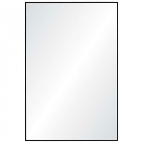 Reynolds Black Frame Rectangular Mirror