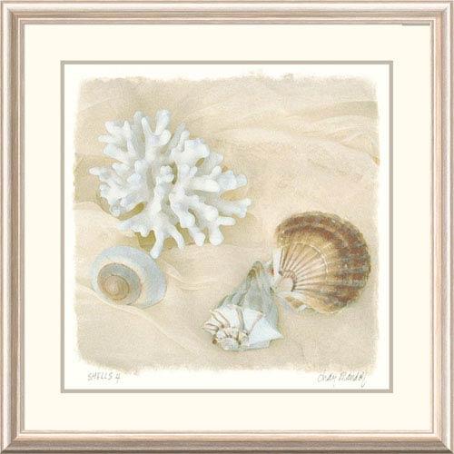 Global Gallery Shells IV By Judy Mandolf, 32 X 32-Inch Wall Art