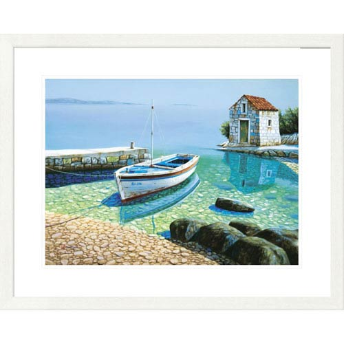 Global Gallery Morning Reflections By Frane Mlinar, 26 X 32-Inch Wall Art