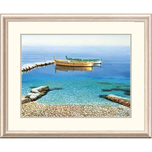 Global Gallery Peaceful Morning By Frane Mlinar, 26 X 32-Inch Wall Art