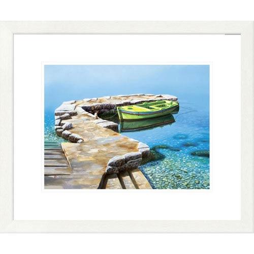 Global Gallery Little Pier By Frane Mlinar, 20 X 24-Inch Wall Art