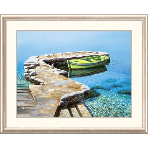 Global Gallery Little Pier By Frane Mlinar, 32 X 40-Inch Wall Art