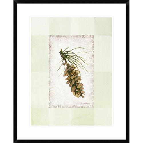 Global Gallery Adirondack Pine Ll By Peggy Abrams, 30 X 24-Inch Wall Art