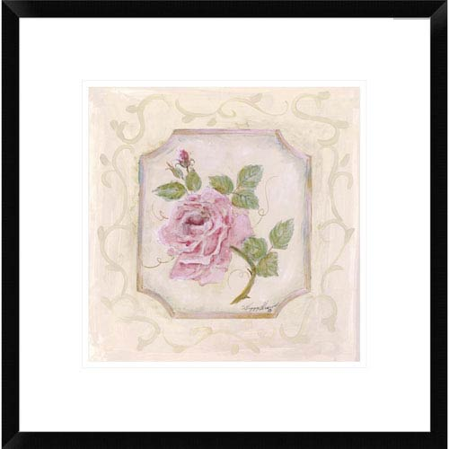Global Gallery Rose In Season L By Peggy Abrams, 18 X 18-Inch Wall Art