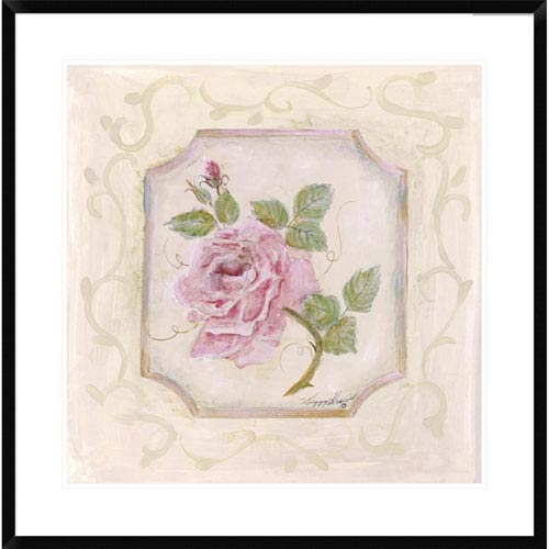 Global Gallery Rose In Season L By Peggy Abrams, 30 X 30-Inch Wall Art