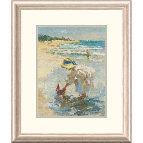 Global Gallery Seaside Summer Ii By Vitali, 24 X 20-Inch Wall Art